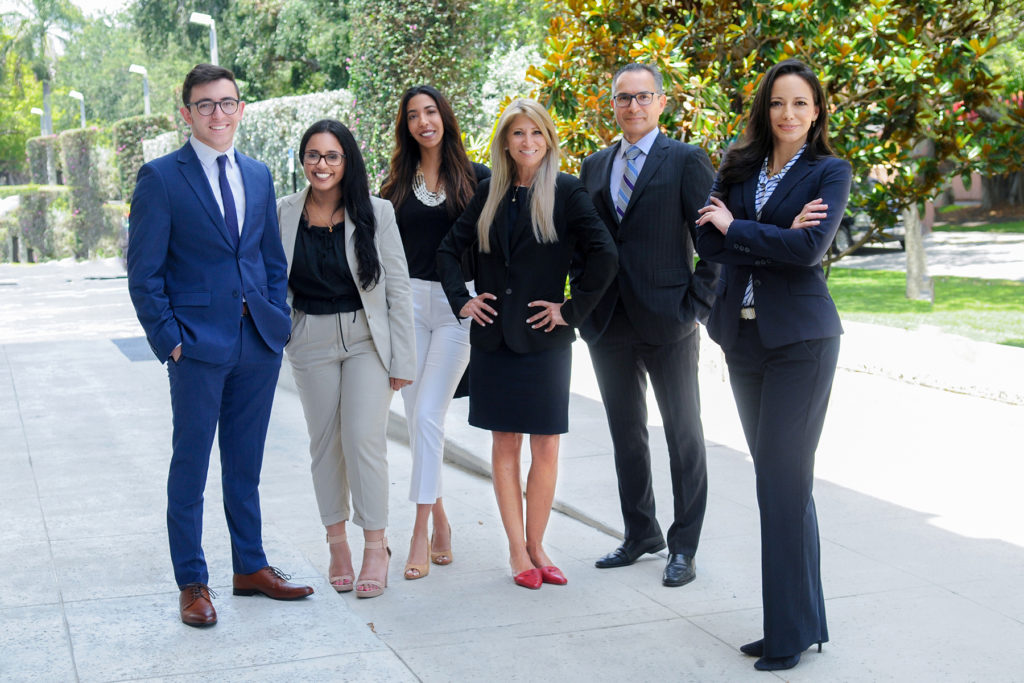 Left to right: Vince Tamburello, Serena Correa, Valentina Murzi, Beatriz Carta, Ricardo Rincon, Regina Campbell